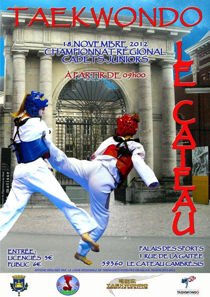 Championnat Régional Cadets-Juniors à Le Cateau dans informations autre club crcd-18-11-2012